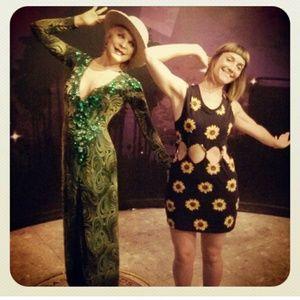 Kendall & kylie sunflower dress